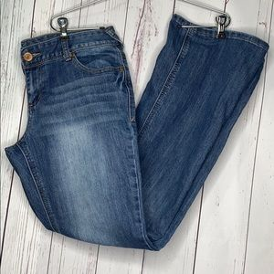 Maurices 9/10 Jeans Stretch Boot Cut Flare
